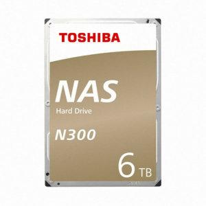 Toshiba 6TB N300 HDWN160 (SATA3/7200/128M)