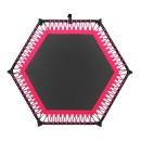 바투정품 점핑팰리스-핑크 6각 트램폴린 성인다이어트