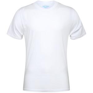 기본 라운드 반팔 30수 흰색 학생티셔츠