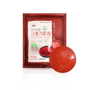 정탑 고춧가루(다데기용/수입/매운맛)2.5kg / 고운입자