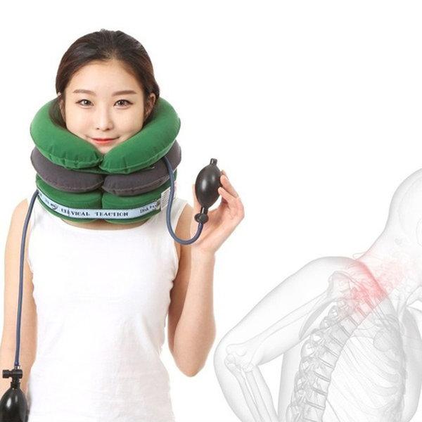 현대 디스크팡 써비칼 목견인기 목보호대 목트렉션