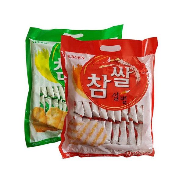 참쌀선과 253g + 참쌀설병 270g 세트 쌀과자 간식