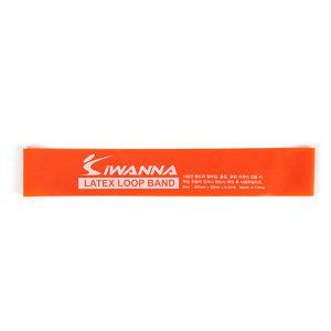 IW_라텍스루프밴드_오렌지0.5mm/가벼운 탄성저항 밴드