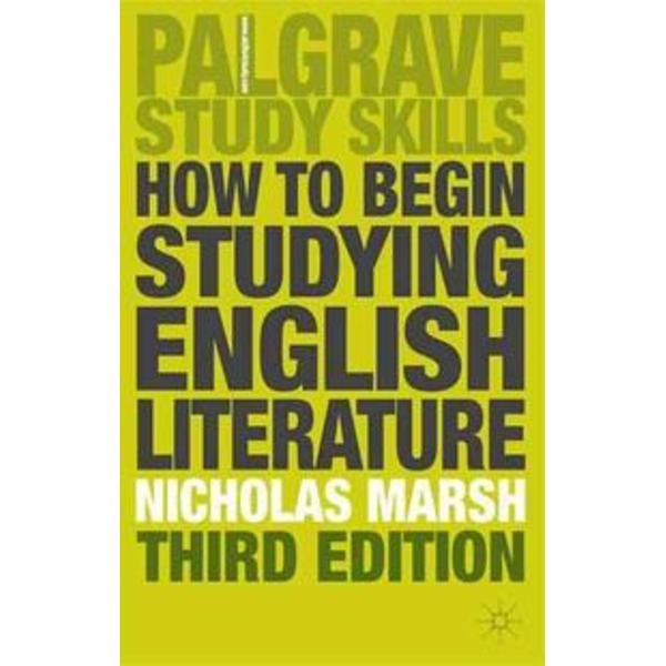 How to Begin Studying English Literature