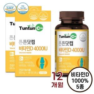 비타민D 4000 IU (6개월분) x 2개