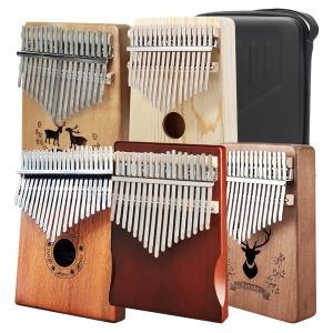 칼림바 사슴무늬 17음계 손가락피아노 루돌프 당일발송