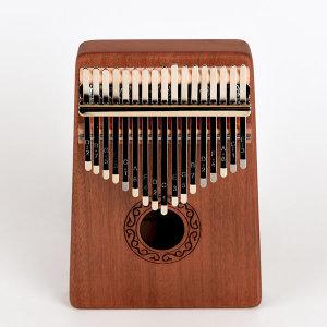칼림바 17음계 교육용 취미 악기 엄지손가락 피아노