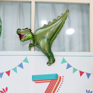 미니쉐입 티렉스 공룡풍선 / 은박 동물 생일파티용품