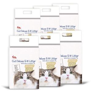 프리미엄 고양이 두부모래 베이비파우더향 7Lx6개