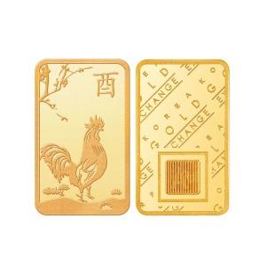 한국금거래소 닭 골드바 3.75g 순금24K
