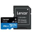 렉사공식판매원 스마트폰 블랙박스 microSD 633X 256G