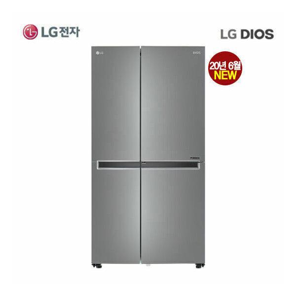 LG DIOS 냉장고 양문형 S833S32 실버