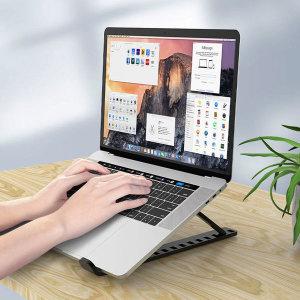 10단 각도조절 접이식 노트북거치대 + 파우치 태블릿