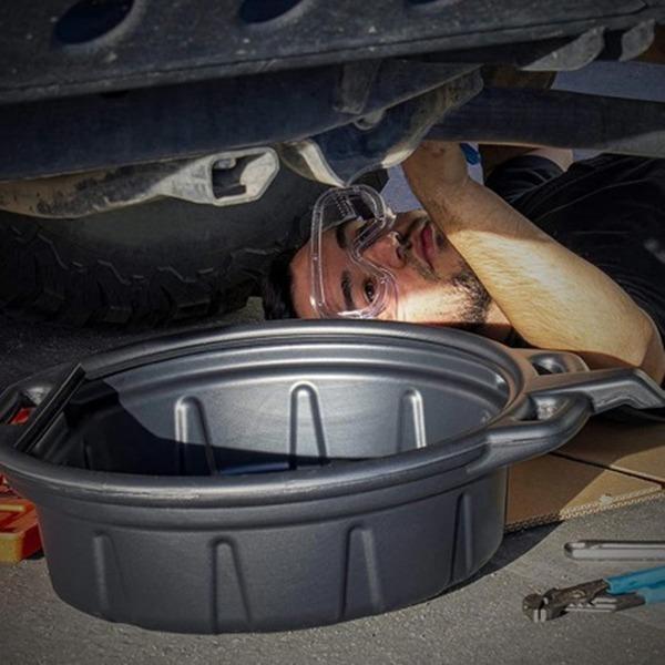 15리터 폐유 오일 받이팬 자동차 정비공구 오일받이통
