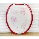 (핑크) 변기커버 U형 욕실용 변기뚜껑 변기시트