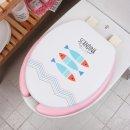 (중형) 소프트 변기커버 U형 피쉬 욕실용 변기뚜껑