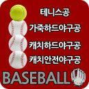 가죽 하드 야구공 / 캐치볼 야구용품 야구배트 장비