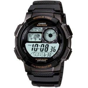 카시오 AE-1000W-1A 스포츠 전자 손목시계 군인 방수
