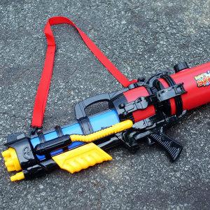 2.6L 대용량 초대형람보물총 69cm크기워터건 물총축제