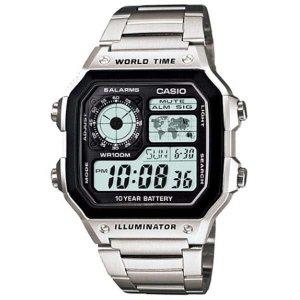 카시오 AE-1200WHD-1A 메탈 스포츠전자 손목시계 방수