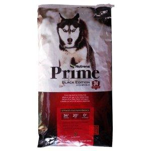 프라임 블랙에디션 작은알 20kg 강아지 애견 개사료