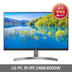 LG IPS 모니터 24ML600SW 24인치모니터 스피커내장