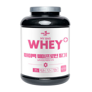 단백질보충제 프로틴 유청 헬스 쉐이크 WPC 딸기 1.8kg