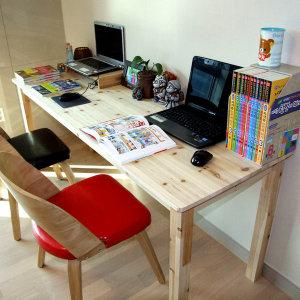 원목책상 컴퓨터책상 800 테이블 1인용 학생책상
