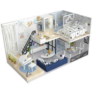 DIY 미니어처 하우스 만들기 럭셔리복층502호 한글판