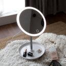LED써클 무선 조명 화장대 화장 탁상 거울 스탠드