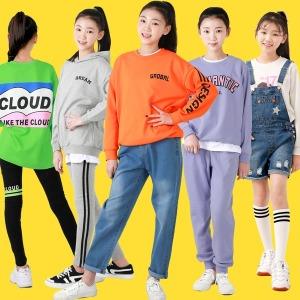 주니어 여아 의류 옷 초등학생 레깅스 상하복 티셔츠