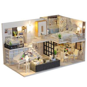 DIY 미니어처 하우스 만들기 럭셔리복층701호 한글판