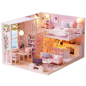 DIY 미니어처 하우스 만들기 체리블로썸복층 한글판