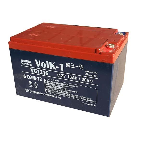 VG1216 딥싸이클 6-DZM-12 겔 밧데리 12V 16Ah 배터리