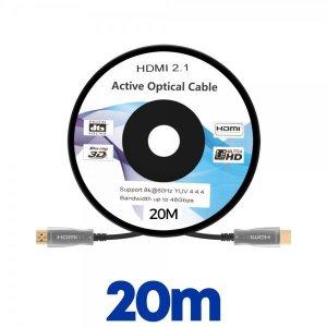 (엠지컴퓨터) NEXT-7020HAOC-8K 이지넷 HDMI 2.1 AOC 광케이블(20m)