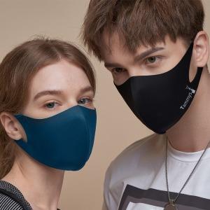태미스 3D 연예인 패션 새부리형 마스크 2+1 블랙/남성