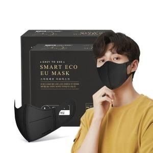 국산 새부리형 일회용 마스크 이유 성인용 블랙 100매