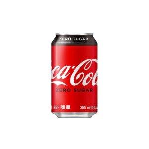 (본사직영) 코카콜라 제로 355캔 24입