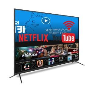 50인치 스마트 TV 인터넷 넷플릭스 4K 티비 UHD 구글TV