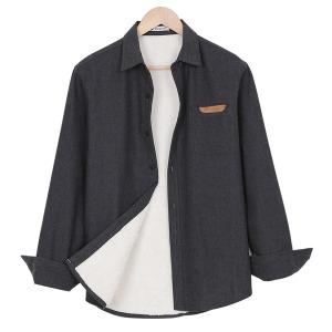 양털 남방 셔츠/기모셔츠/겨울셔츠