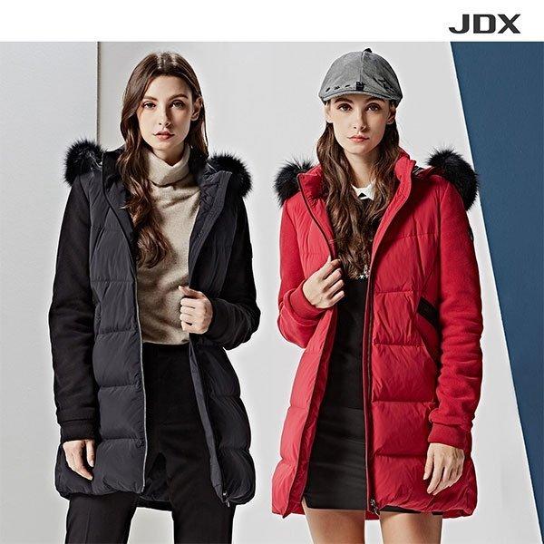 JDX JDX 여성 헝가리구스 다운 폭스퍼 후드점퍼 1종