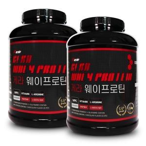 헬스단백질보충제 게라웨이프로틴 2통 2.3kg메이크바디