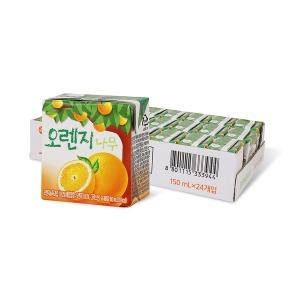 오렌지나무 150ml x 24입 (1박스) - 상품 이미지