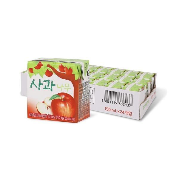 사과나무 150ml x 24입 (1박스)