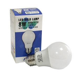 두영 LED 전구 8W_주광색/LED램프 특가 삼파장 형광등