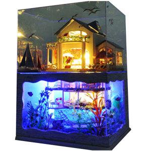 DIY 미니어처 하우스 만들기 아쿠아하우스 한글판