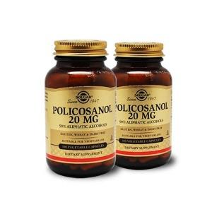(빠른직구) 솔가 폴리코사놀 20mg 100캡슐 2병