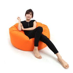 젤코바(원형 대형)빈백 1인용 의자 안락의자 쇼파