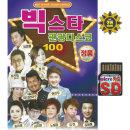 SD 빅스타 관광디스코 100곡 휴대용라디오 mp3 노래칩
