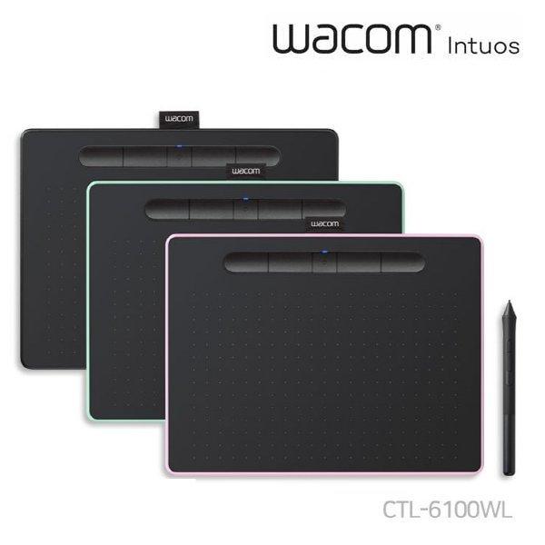 와콤 인튜어스 블루투스 CTL-6100WL 타블렛